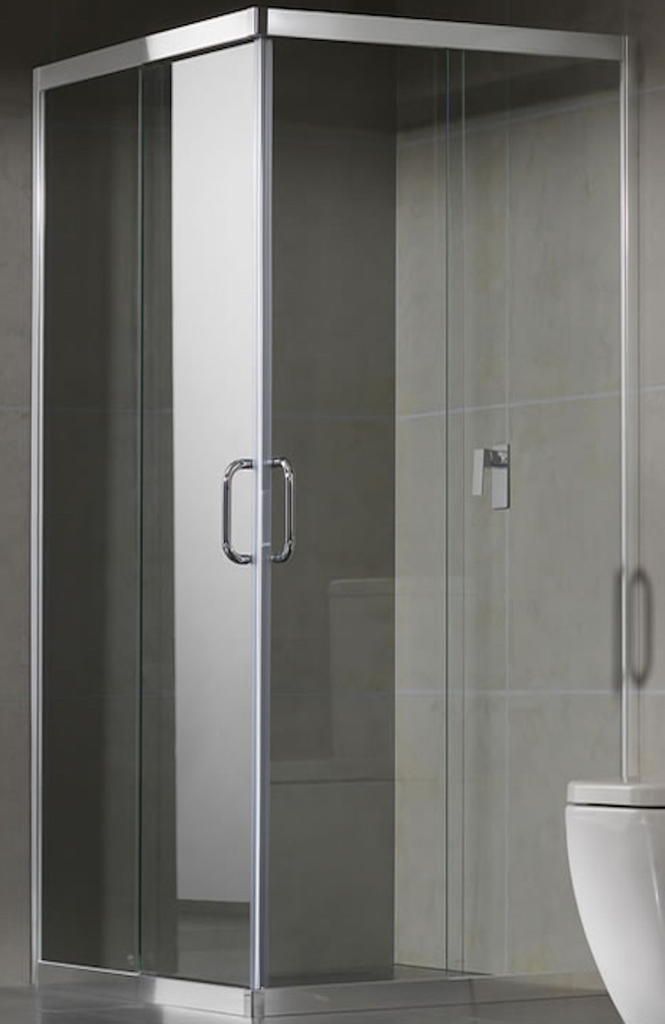 Contour Sliding Shower Screen