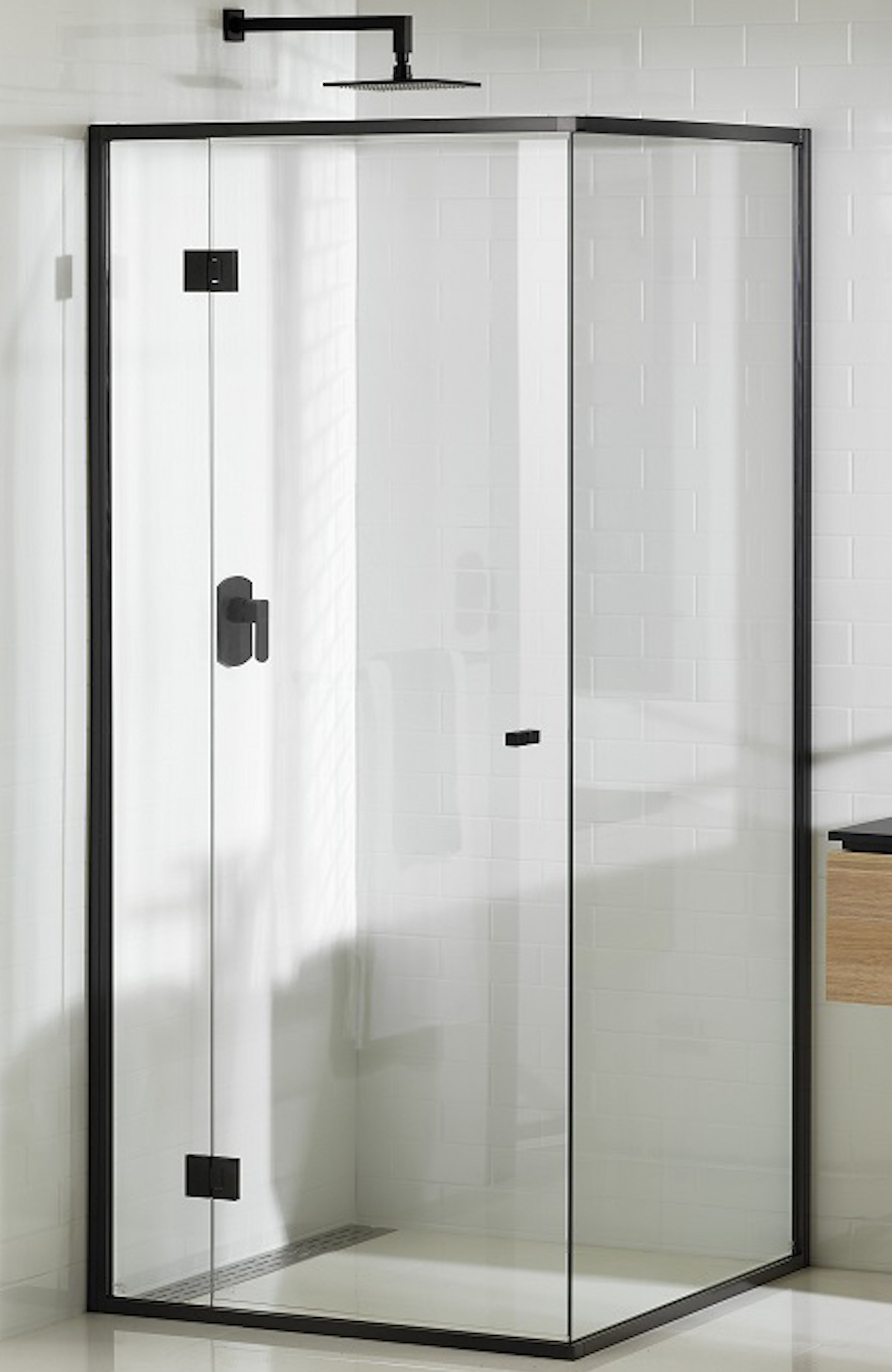 Onyx Shower Screen